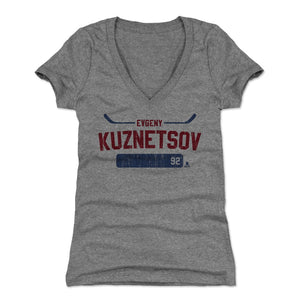 Evgeny Kuznetsov Women's V-Neck T-Shirt | 500 LEVEL