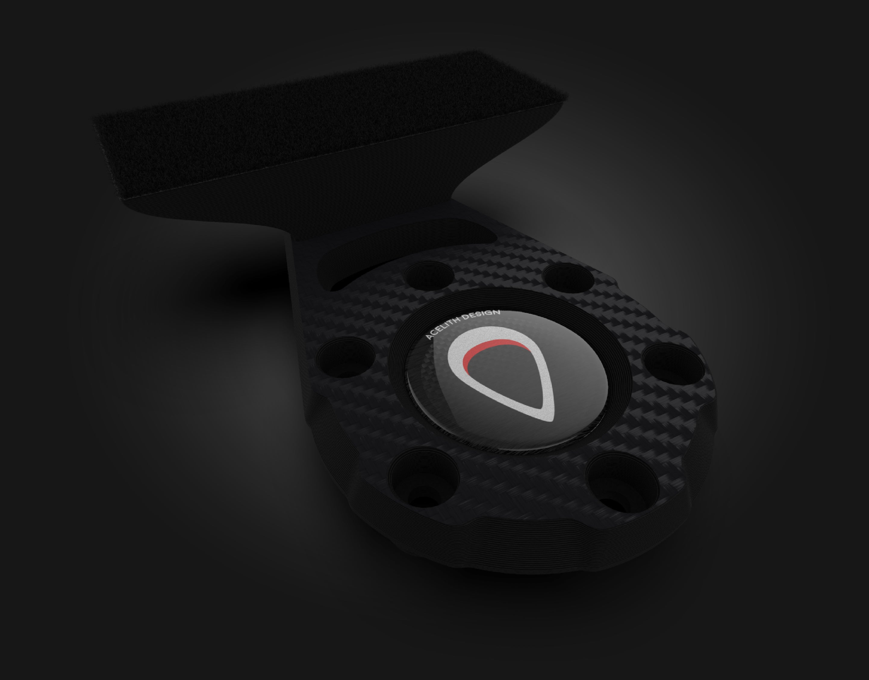 3D Model - Dashboard mod for Original G29\G920 wheel