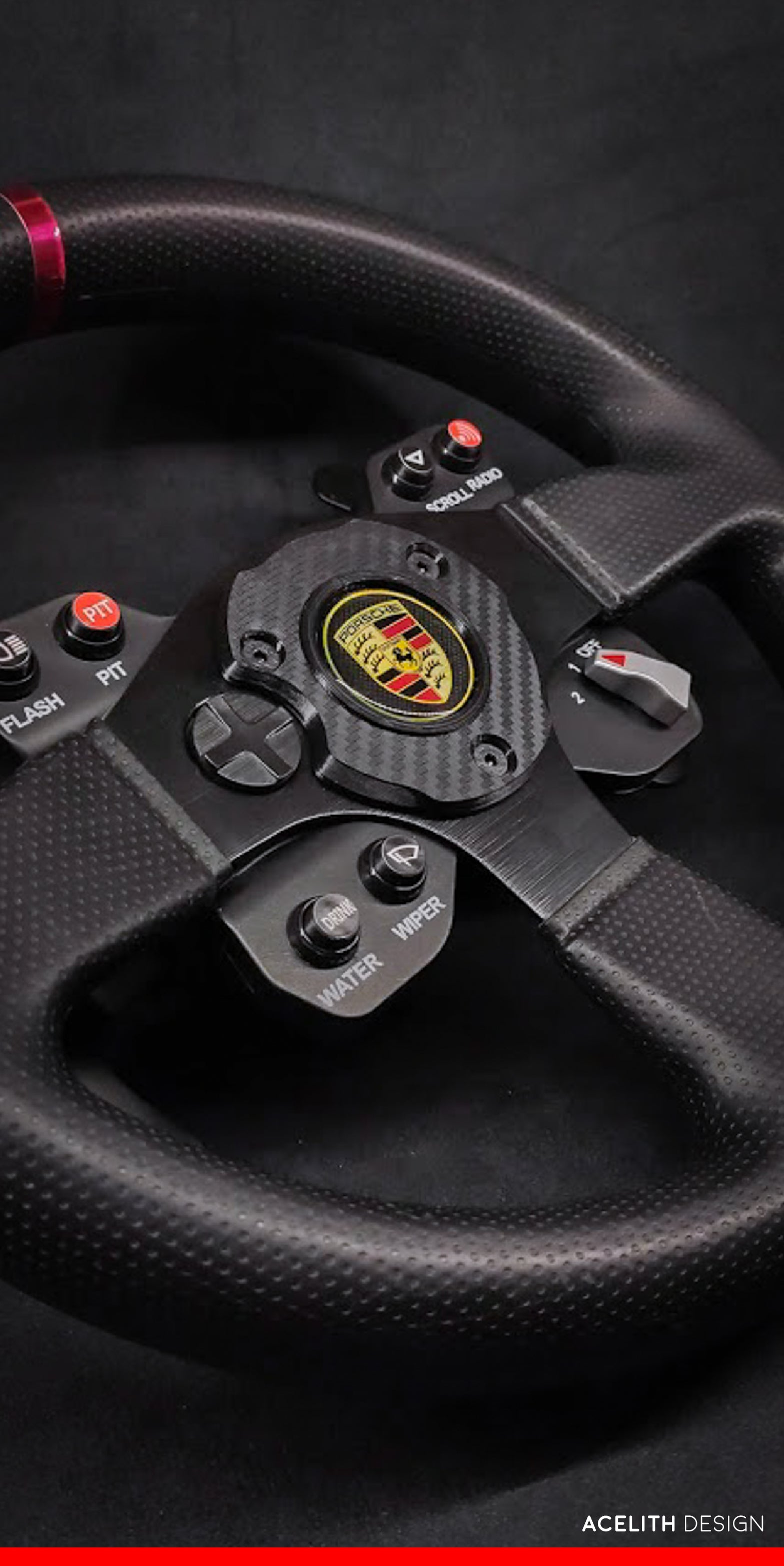 3D Model - Badge\Logo mod for Thrustmaster T300 GTE
