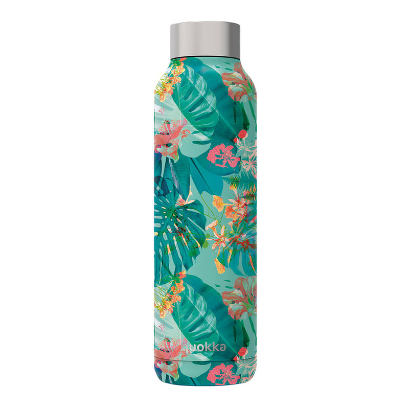 Quokka Stainless Steel Bottle SOLID – 20+ Gorgeous Designs in jungle tropical