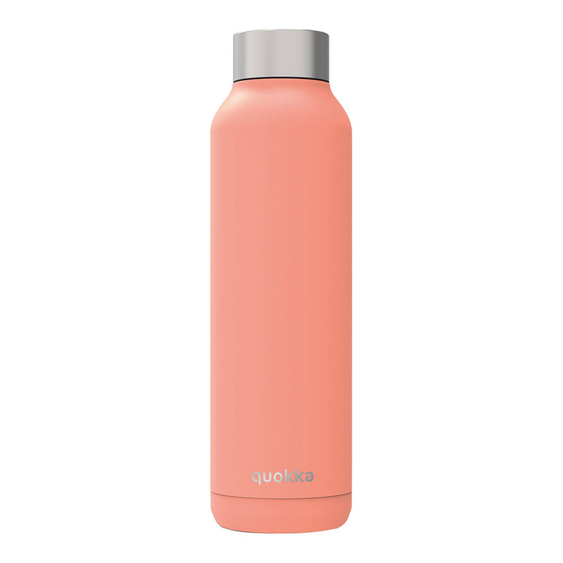 Quokka Stainless Steel Bottle SOLID – 20+ Gorgeous Designs in peach