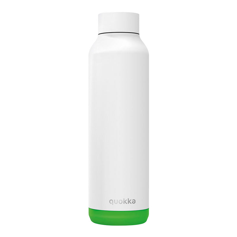Quokka Stainless Steel Bottle SOLID – 20+ Gorgeous Designs in white and green