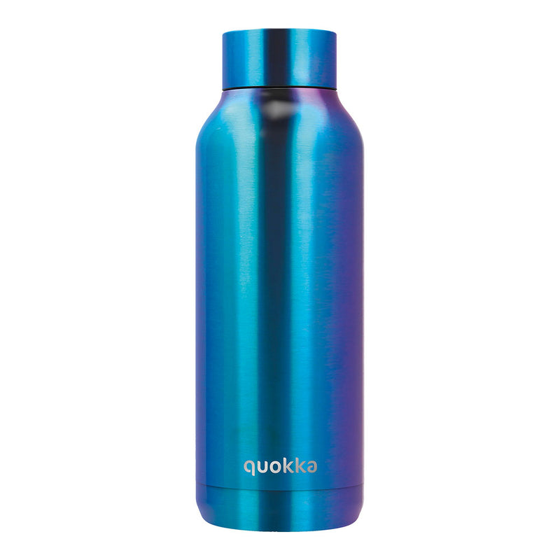 Quokka Stainless Steel Bottle SOLID – 20+ Gorgeous Designs in shiny chrome