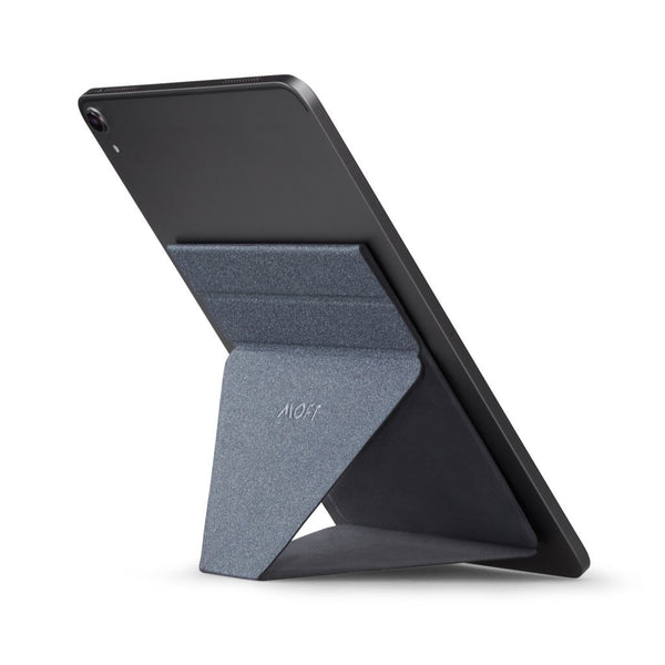 MOFT X Tablet Stand (Grey) - Perfect Viewing Experience front view