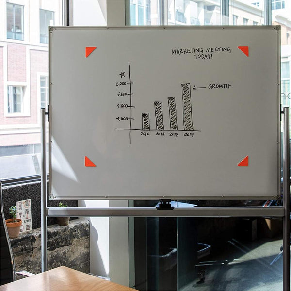 RocketBook Beacons – Digitize Any Whiteboard Or Wall use them on whiteboards for diagrams