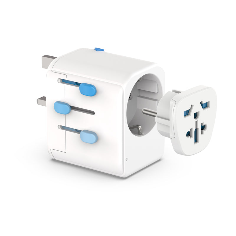 Zendure Passport Pro Travel Adapter – Works in 200 countries easy to remove