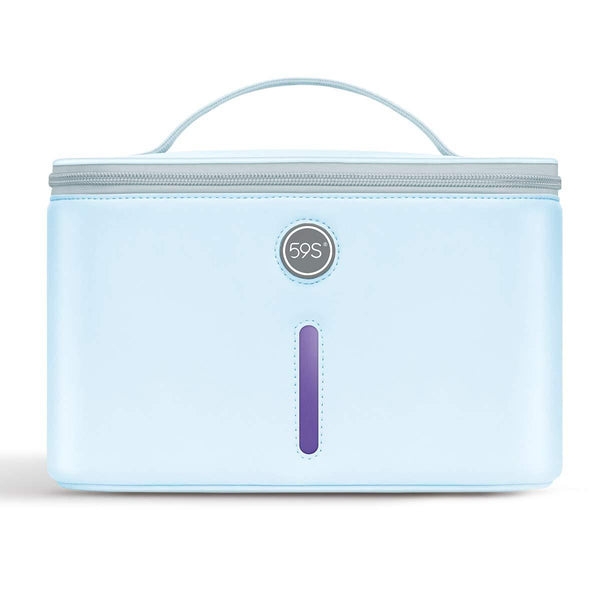 59S UVC LED Sterilizing Bag P55 (Carolina Blue) bag front view