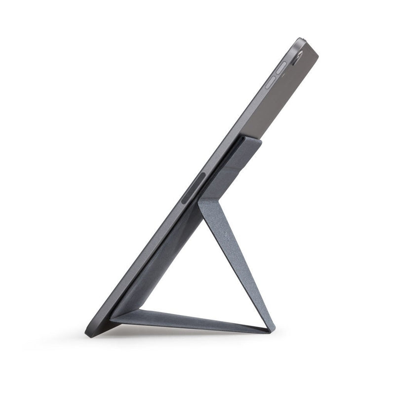 MOFT X Tablet Stand (Grey) - Perfect Viewing Experience side view