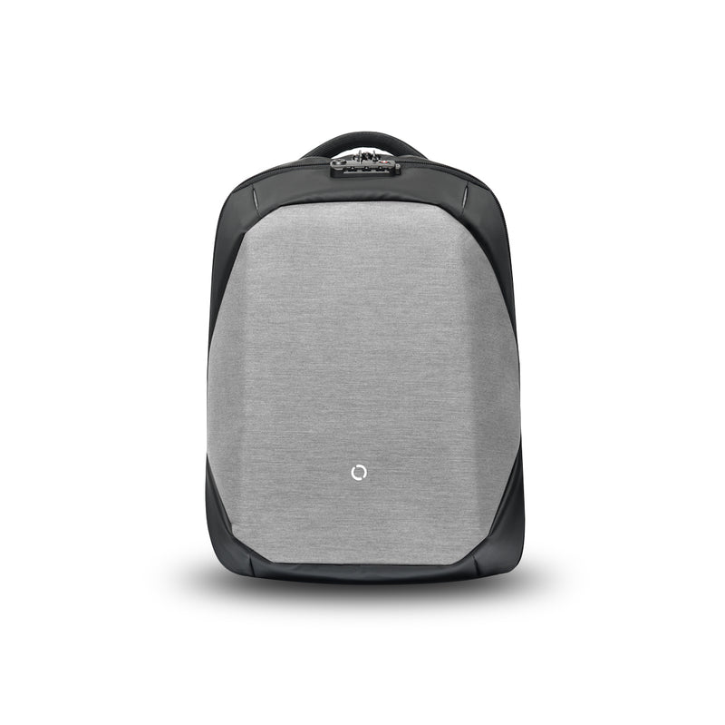 ClickPack Basic by Korin – Secure, Multi-functional Backpack in light grey