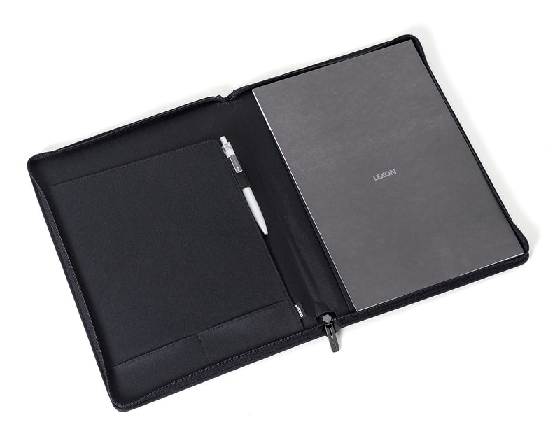 Lexon A4 Folder (Airline/Premium) - Business Folder for Work laid flat