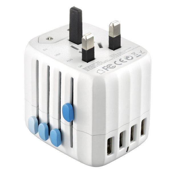 Zendure Passport Travel Adapter – Works in 150 countries socket view