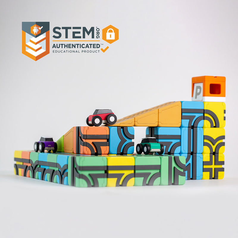 Qbitoy Magnetic Cubes - Unleash Your Child's Creativity STEM Certified toys for smart kids