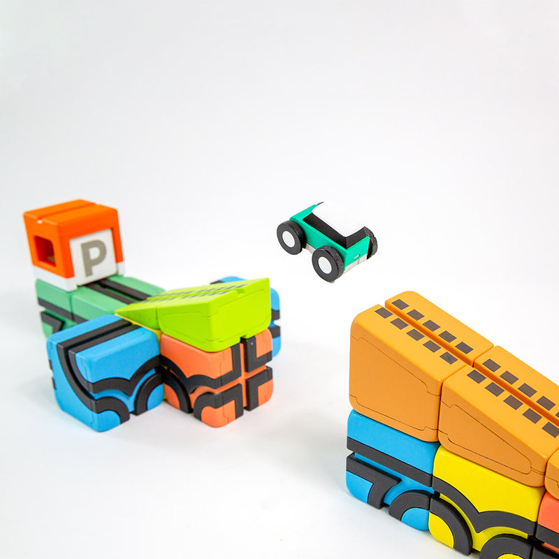 Qbitoy Magnetic Cubes - Unleash Your Child's Creativity and imagination