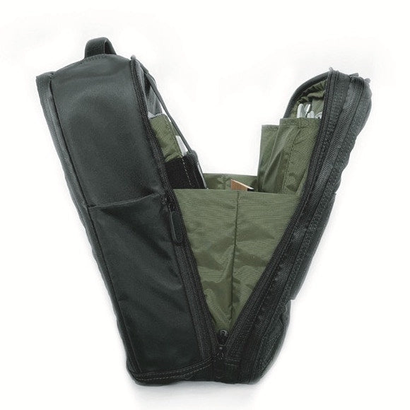 Quiver X Multifunctional Bag - 3-in-1 Everyday Carry slides open