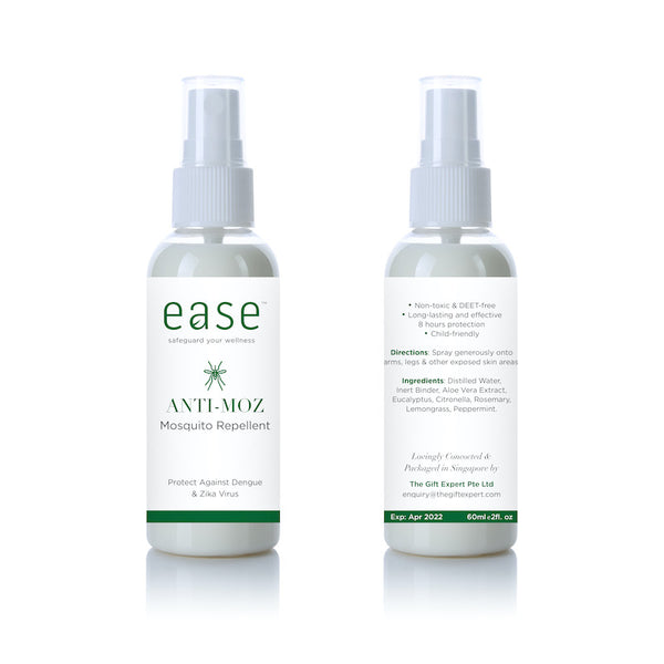 EASE™ Anti-Moz Mosquito Repellent (60 ml) – Natural & No DEET