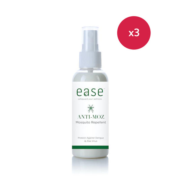 EASE™ Anti-Moz Mosquito Repellent (60 ml) – Natural & No DEET bundle
