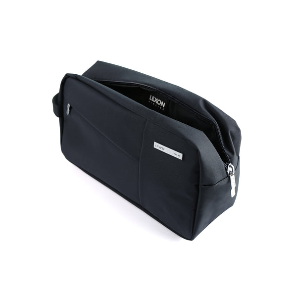 Lexon Toiletry Bag (Airline/Premium) – Multi-Pocketed opened up