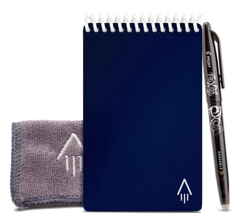 RocketBook Everlast/Mini - Reusable, Cloud-Connected Notebook mini in navy