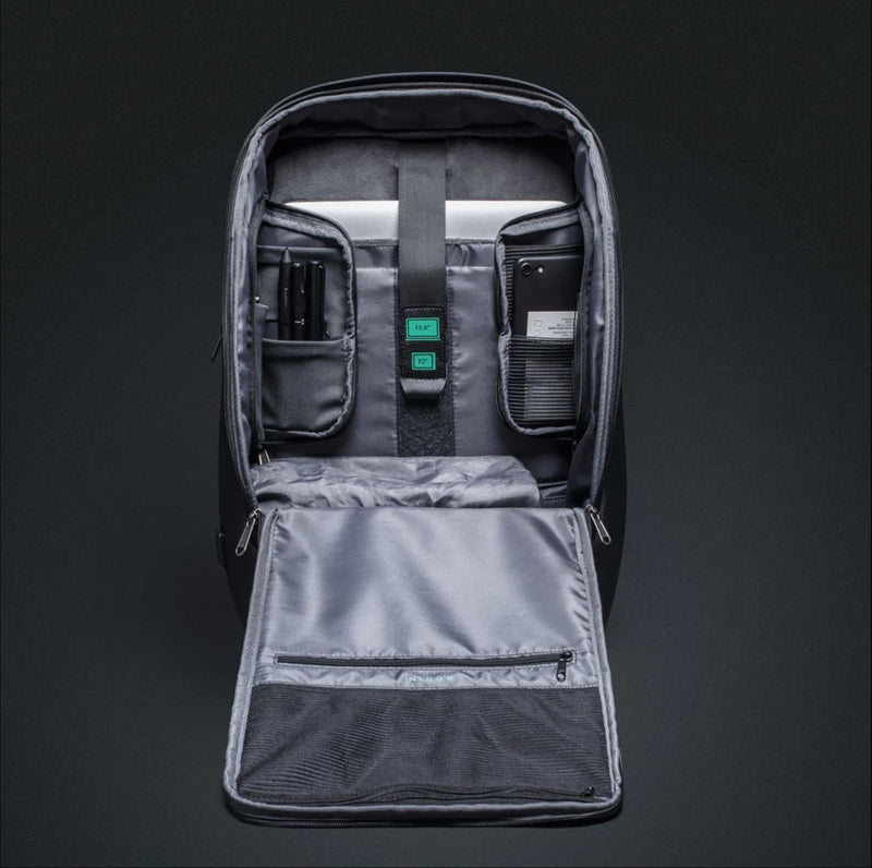 FlexPack Pro by Korin - Anti-Theft, Spacious Backpack internal compartments and space