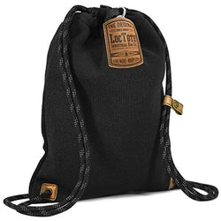 Loctote Flak Sack II - Theft-Resistant Drawstring Backpack front view