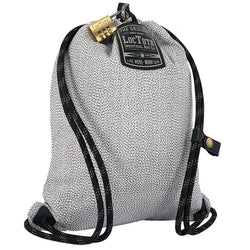 Loctote Flak Sack Sport I - Theft-Resistant Drawstring Backpack front view
