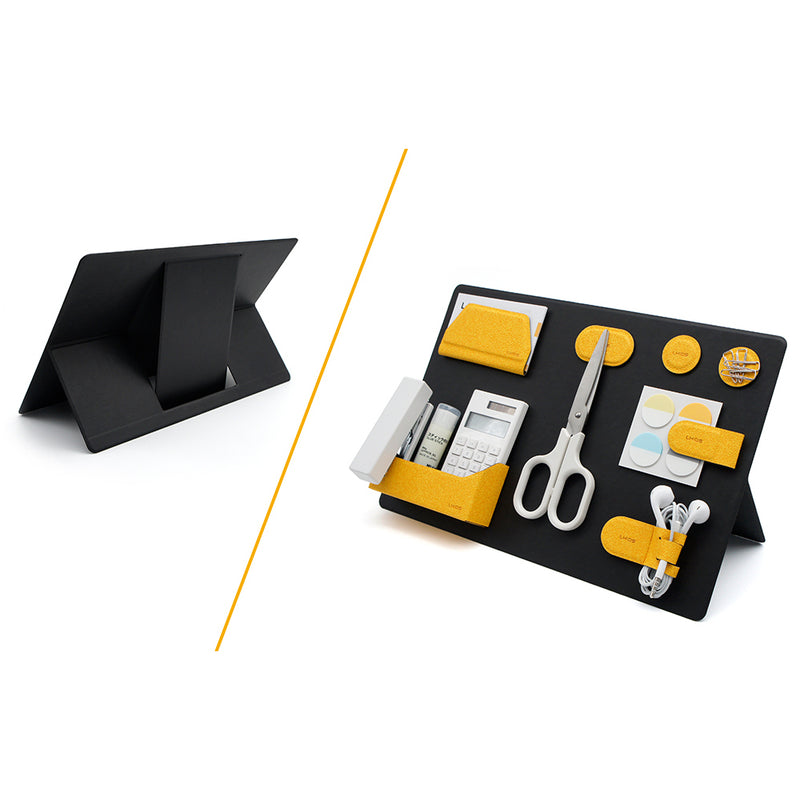 MagEasy - The World's 1st Modular Magnetic Organizing Kit - MagEasy Board with strong magnets stand