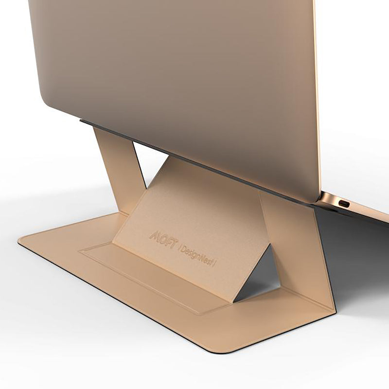 MOFT Laptop Stand – Invisible, Lightweight & Adjustable in beige