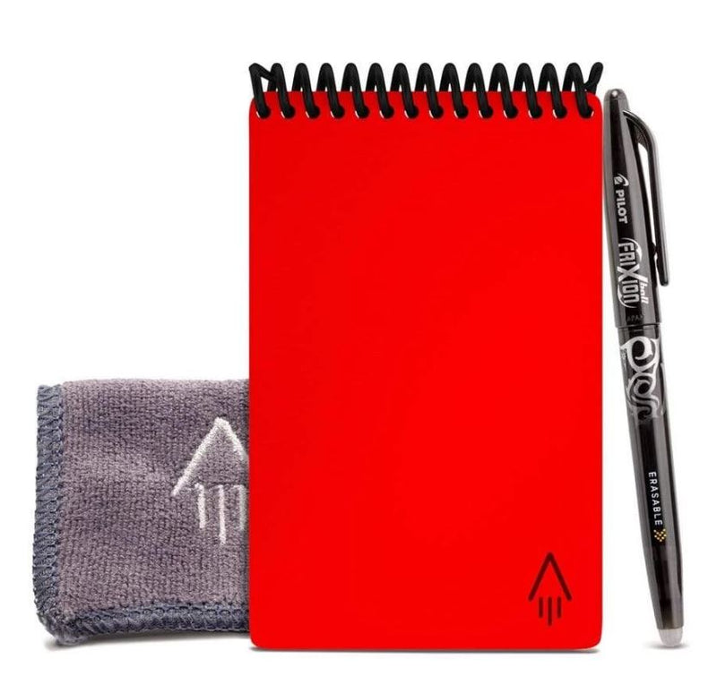 RocketBook Everlast/Mini - Reusable, Cloud-Connected Notebook mini in red