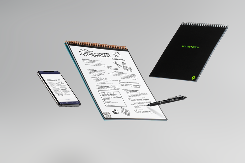 Rocketbook Flip: Galaxy's 1st Ambidextrous Reusable Notepad cloud-connectivity at your fingertips
