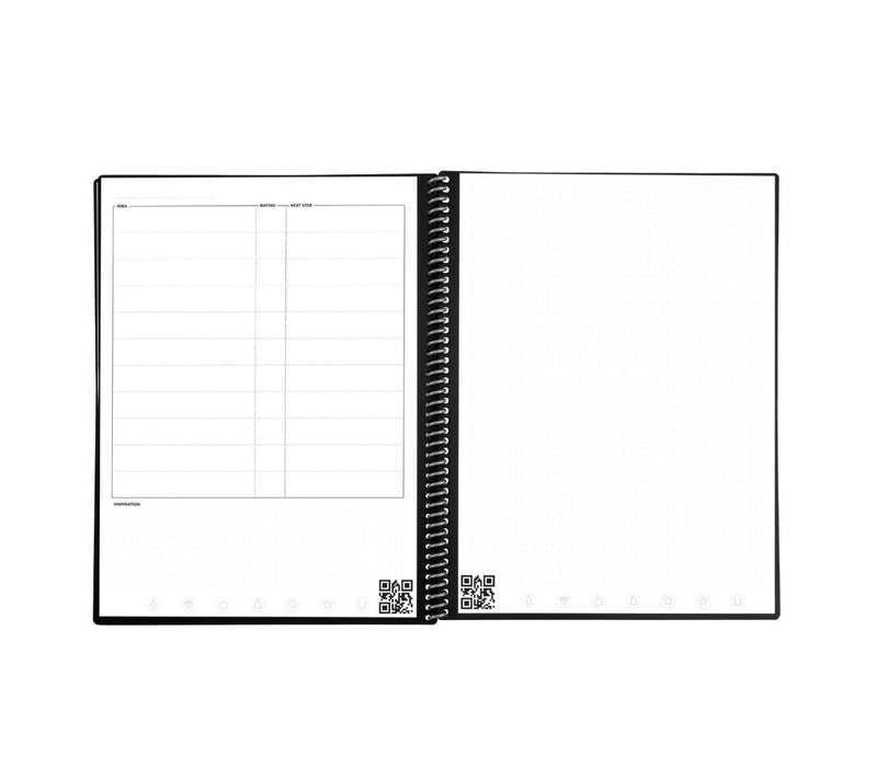 RocketBook Fusion – The Smart Daily Planner You Need different page templates