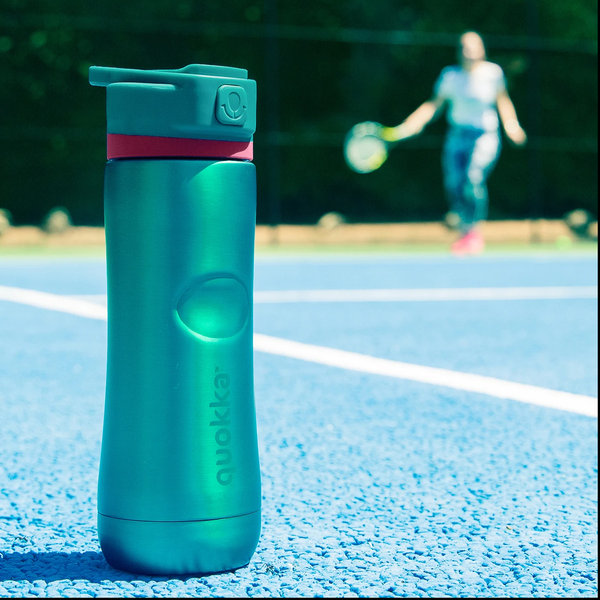 Quokka Stainless Steel Bottle SPRING – Outdoor Friendly Design outdoors tennis court