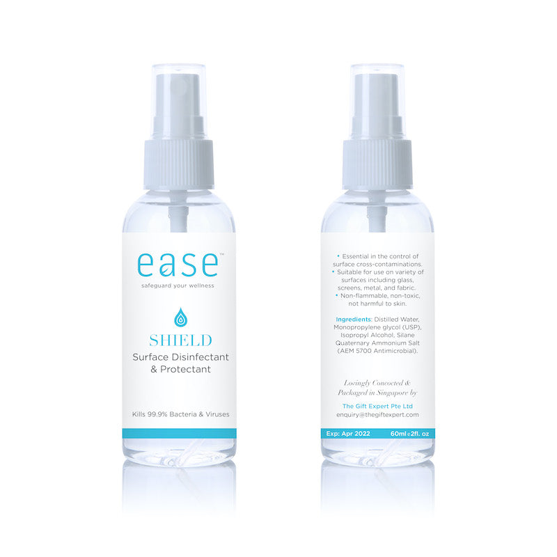 EASE™ SHIELD Disinfectant and Protectant Spray (60ml)
