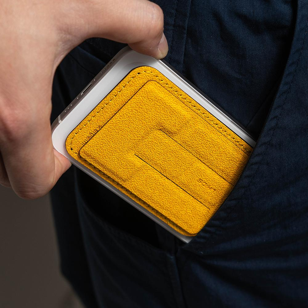 MAGEASY PHOLDR CLING-ON WALLET KIT super slim and lightweight