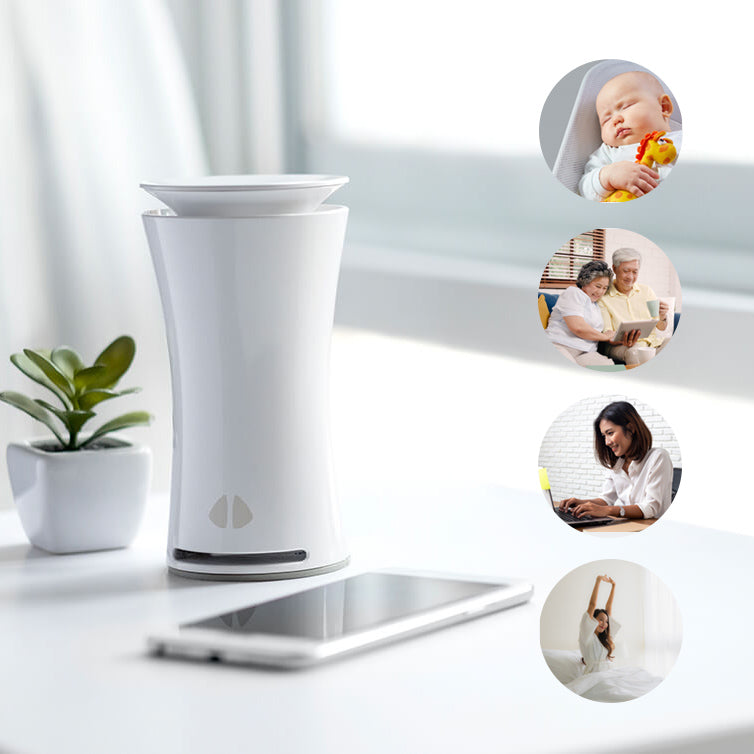 uHoo Indoor Air Sensor - Protect your loved ones from allergens and toxins, Manage What You Measure in terms of air quality