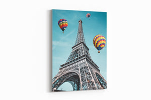 Balloon City (Eiffel Tower Edition) - A Philosophy of Life Canvas, Co.