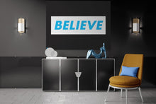 Load image into Gallery viewer, BELIEVE - A Philosophy of Life Canvas, Co.