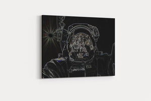 Greetings From Space - A Philosophy of Life Canvas, Co.