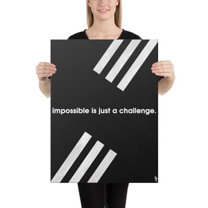 Just a Challenge - A Philosophy of Life Canvas, Co.