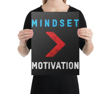 Load image into Gallery viewer, Mindset > Motivation - A Philosophy of Life Canvas, Co.