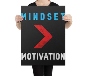 Mindset > Motivation - A Philosophy of Life Canvas, Co.