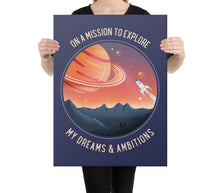 Load image into Gallery viewer, Mission to Explore - A Philosophy of Life Canvas, Co.