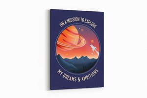 Mission to Explore - A Philosophy of Life Canvas, Co.