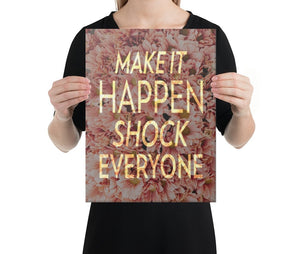 Shock Everyone - A Philosophy of Life Canvas, Co.