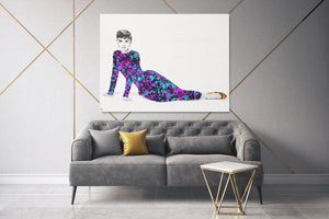 The Best Investment - Audrey Hepburn - A Philosophy of Life Canvas, Co.