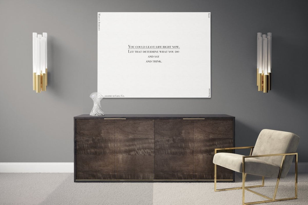 The Truth is Not Always the Brightest - A Philosophy of Life Canvas, Co.