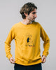 Brava Fabrics - Men's Sweatshirt - Sweatshirt Organic Cotton - 100% Organic Cotton - Model Popeye Muscled