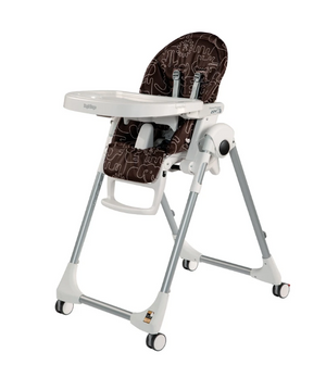 Peg Perego High Chair Prima Pappa Zero 3 | Cacao Savana