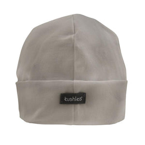 Kushies 2 Baby Caps | Grey + White
