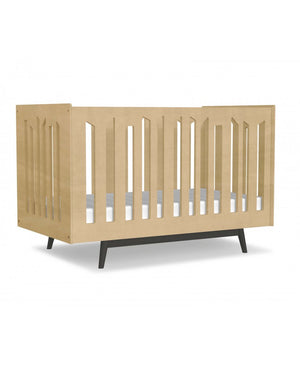 Dutailier Lollipop 4-in-1 Crib | Black + Natural