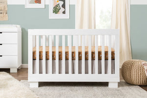 Caspian 4-1 Convertible Crib | White